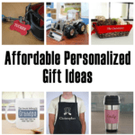Affordable Personalized Holiday Gifts - #EBHolidayGiftGuide