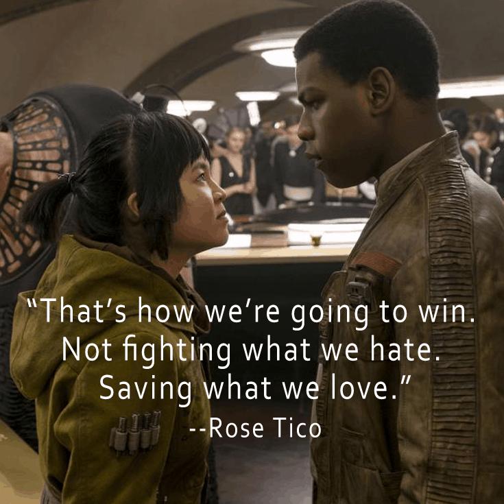 The Last Jedi Quotes - Rose Tico