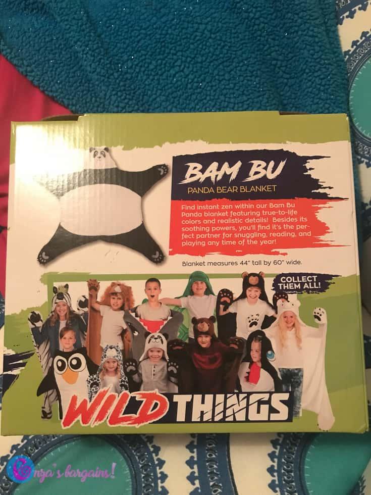 Wild Things Blanket - #EBHolidayGiftGuide