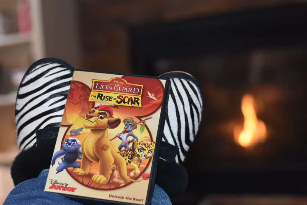 The Lion Guard - The Rise of Scar on Disney DVD