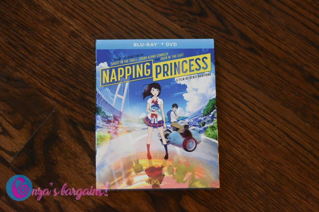 Napping Princess on Blu-ray + DVD Review and Giveaway