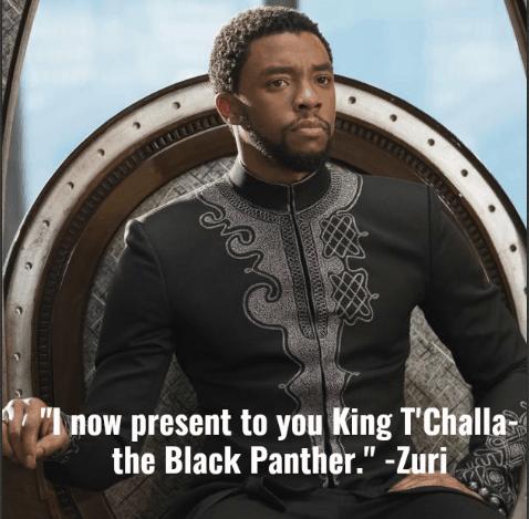 Marvel's Black Panther Quotes Zuri
