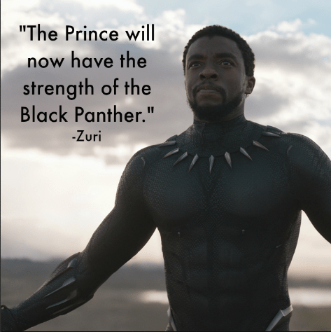 Marvel's Black Panther Quotes by Zuri