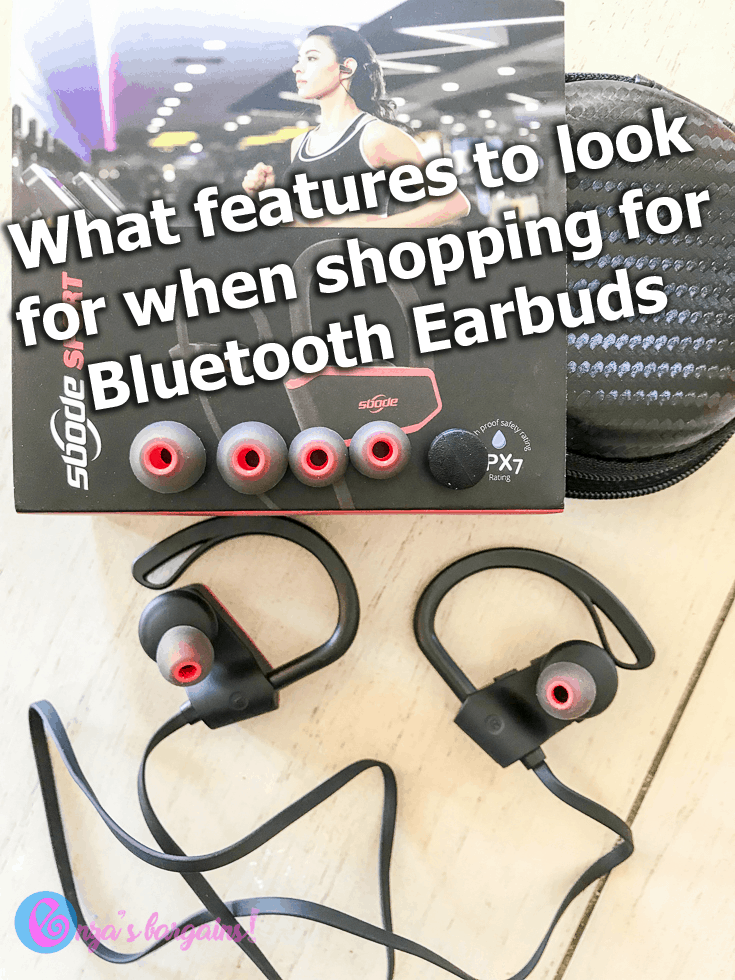 Bluetooth Earbuds Features to Look For When Shopping