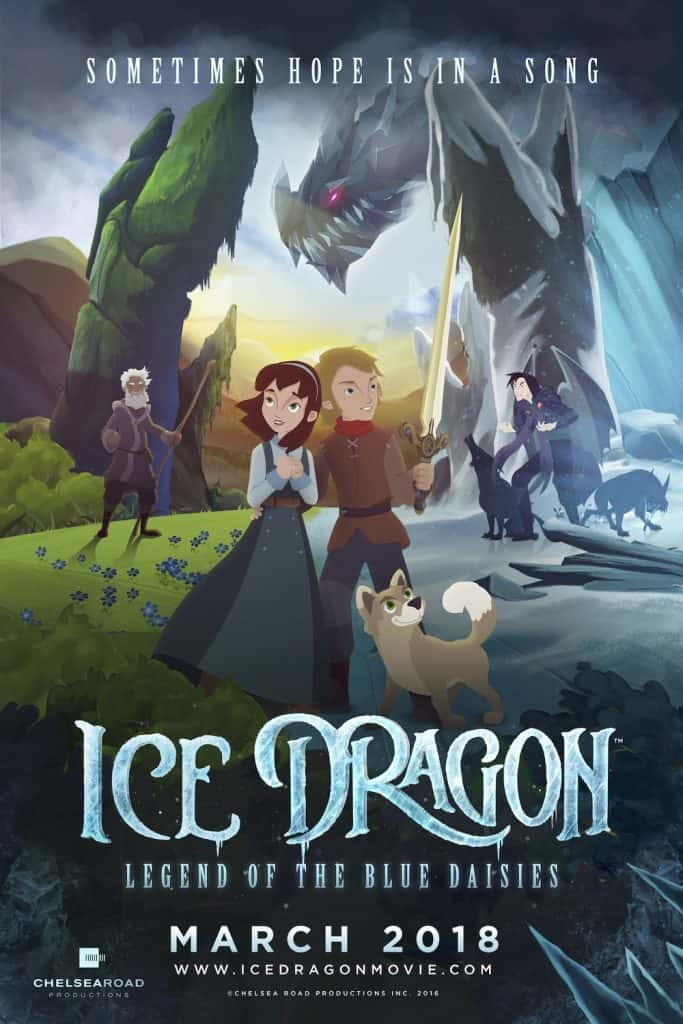 "Bruce Stacey Interview for ""Ice Dragon – Legend of the Blue Daisies"""