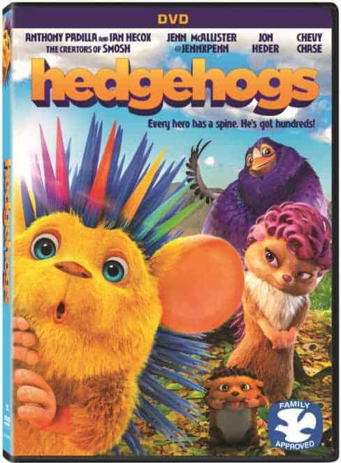 Hedgehogs DVD & Giveaway!