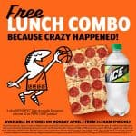 Little Caesars Free Pizza Since 16th Seed Beat a 1st Seed