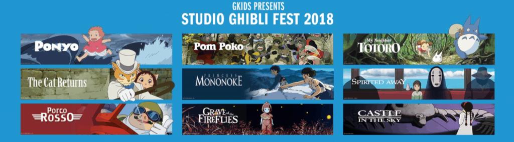 The Studio Ghibli Fest 2018