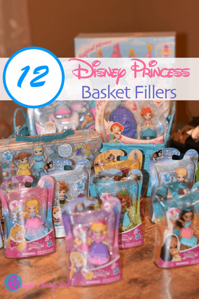 Disney Princess Easter Basket Fillers!