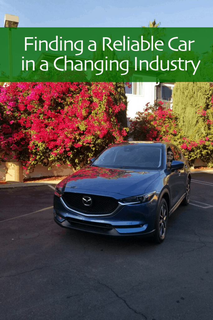 Finding a Reliable Car in a Changing Industry
