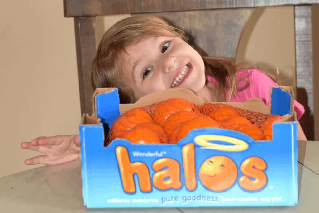 Healthy Classroom Snack Idea with Wonderful Halos