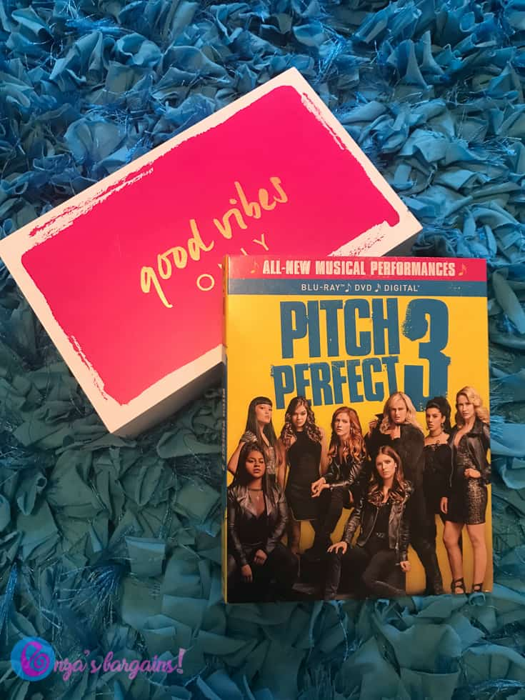 Pitch Perfect 3 on DVD is on today's watch list!