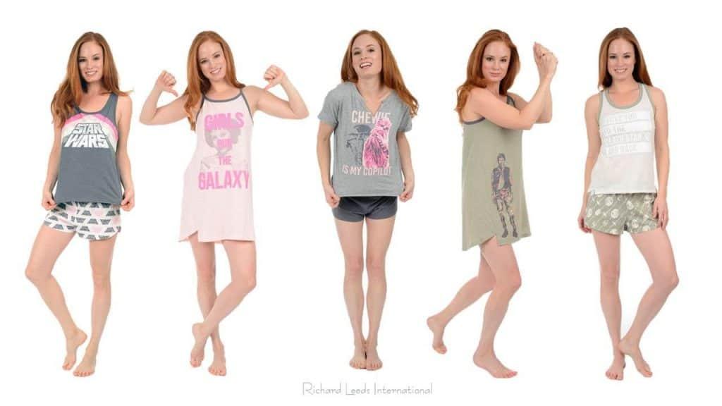 Star Wars Pajamas for Women by Richard Leeds International