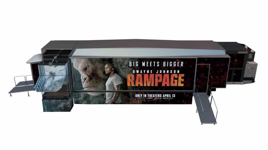 Rampage Cinetransformer Tour