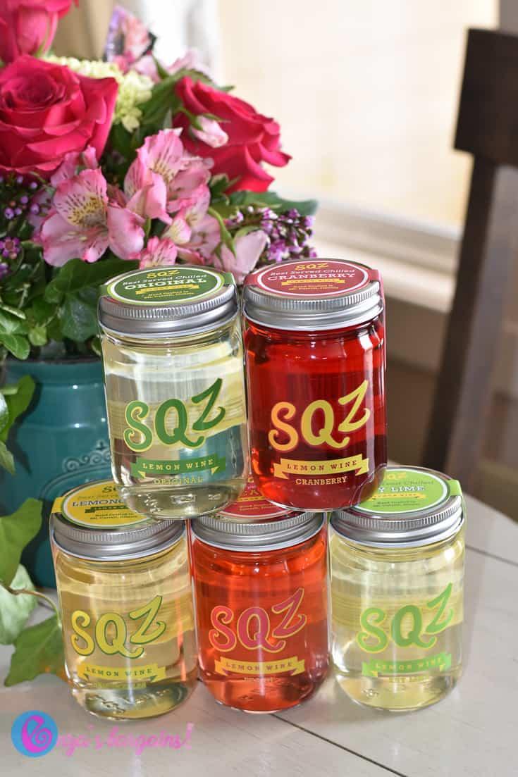 SQZ Lemon Wines