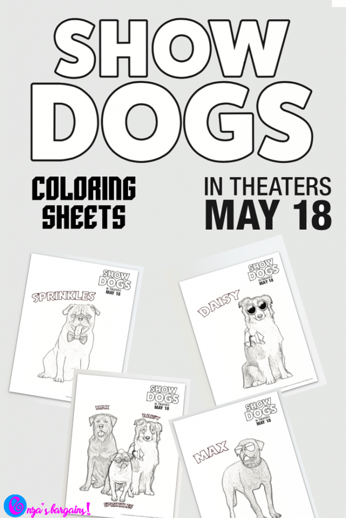 Show Dogs Movie Printable Coloring Pages - EnzasBargains.com