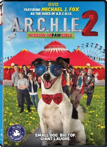 A.R.C.H.I.E. 2: Mission Impawsible DVD