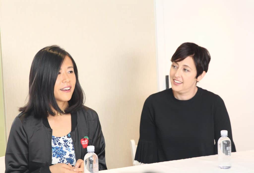 Domee Shi & Becky Neiman Interview for Bao at Incredibles 2 Event