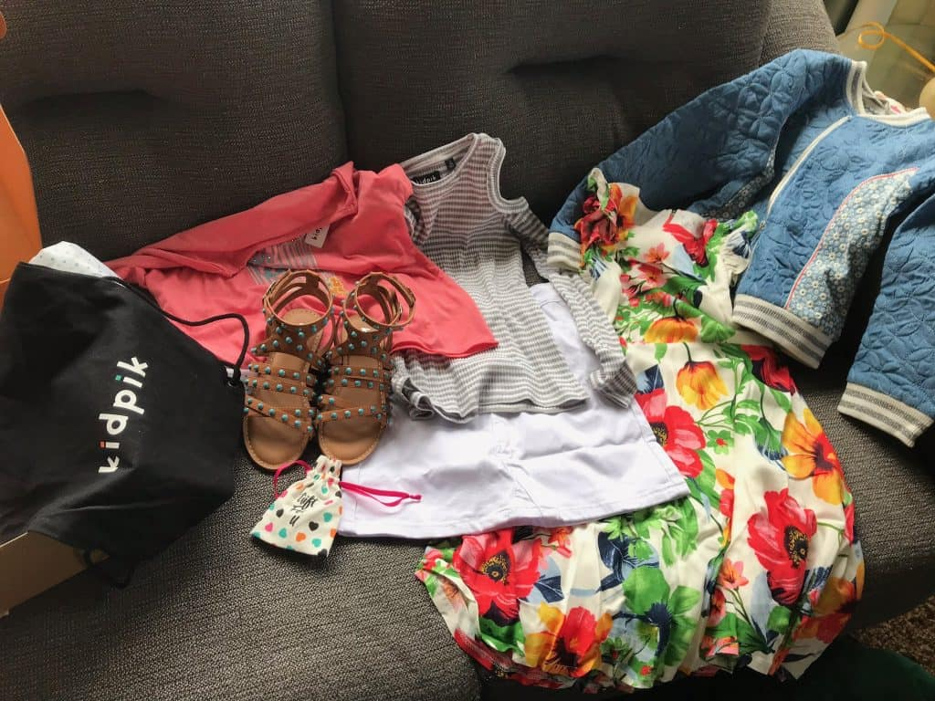 KidPik Review - A fashion subscription for kids!