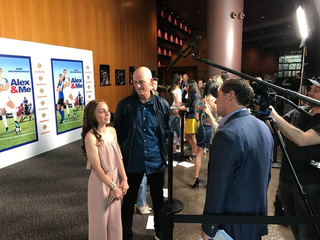 Eric Champnella Interview - Alex & Me DVD with STAR Alex Morgan