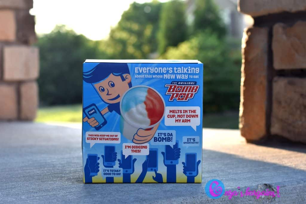 Original Bomb Pop Cups Coupon and HyVee & TIPS on how to stay cool!