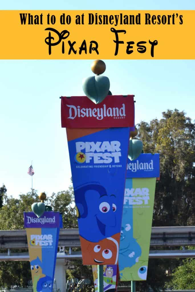 Pixar Fest in Disneyland - What is new?