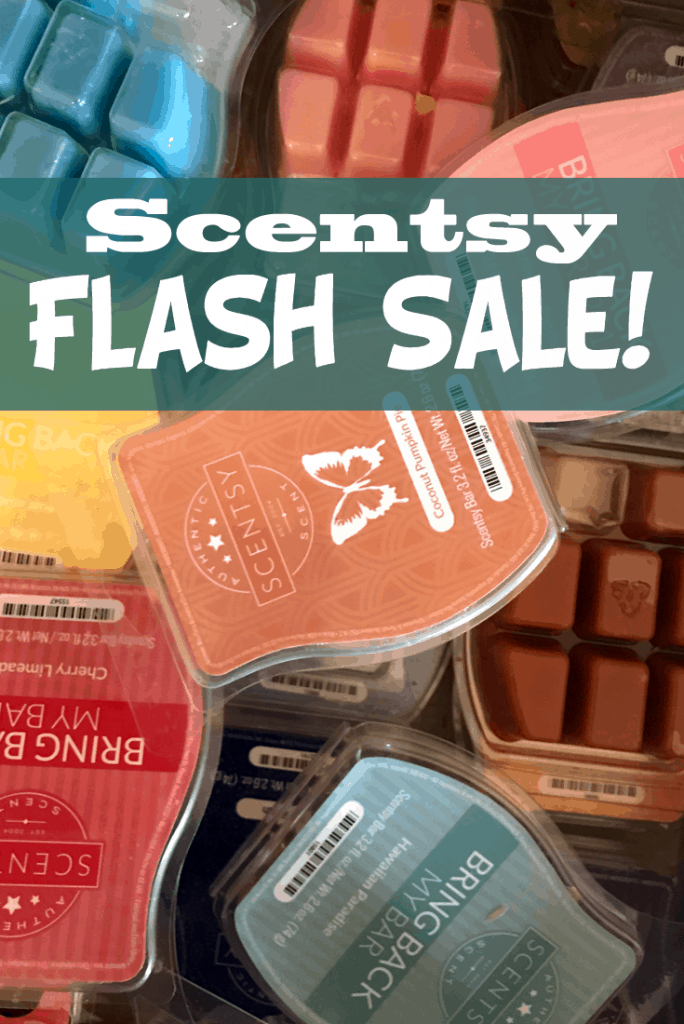 Scentsy Flash Sale JUNE