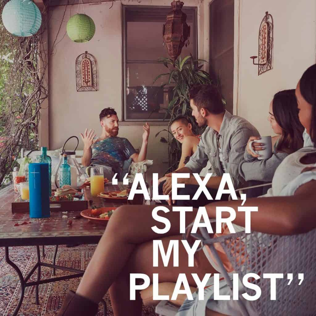 Alexa Compatible Speaker - Ultimate Ears MEGABLAST and BLAST from Best Buy