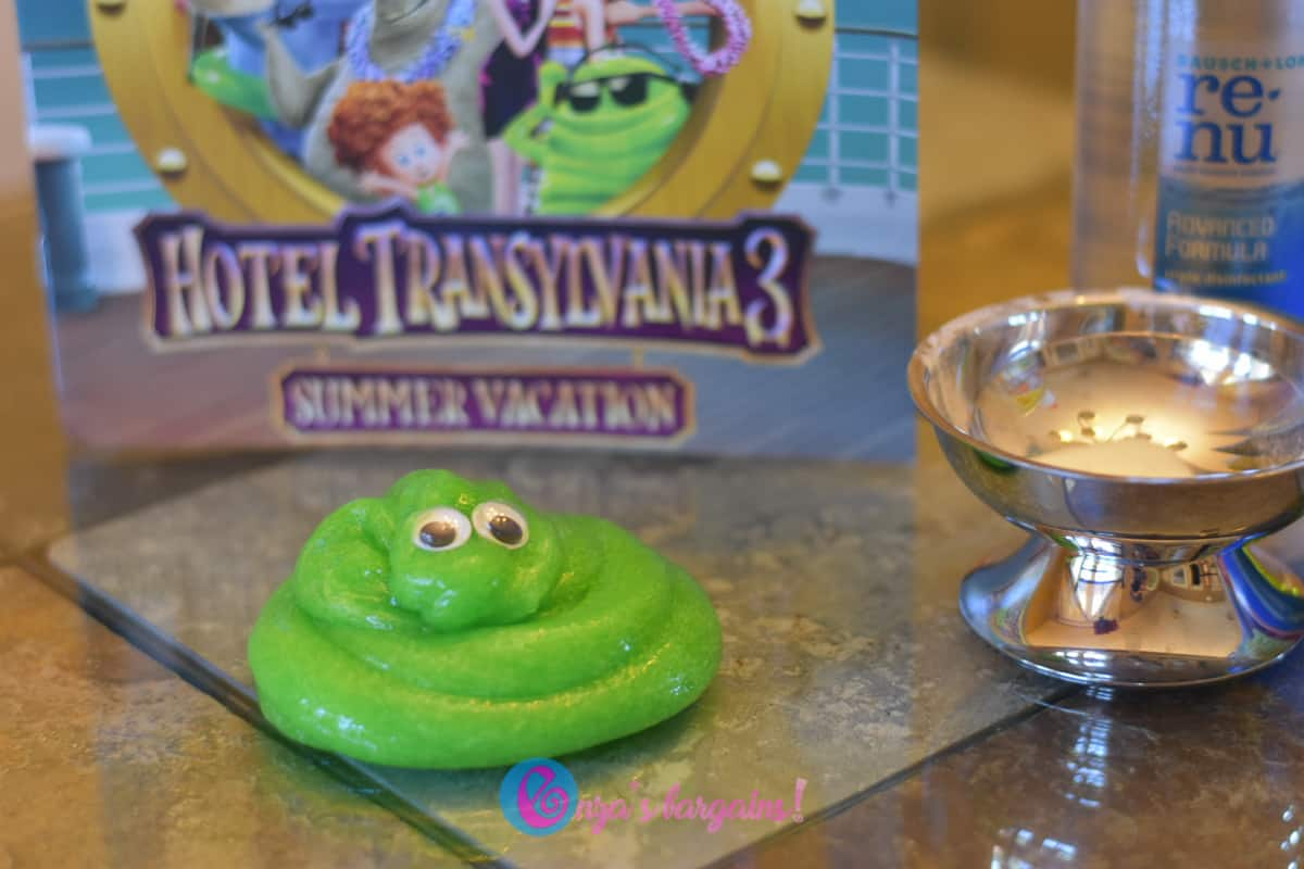 Clear Green Slime - Blobby from Hotel Transylvania