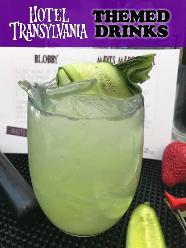 Hotel Transylvania Themed Drinks - The Blobby