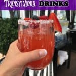 Hotel Transylvania Themed Drinks
