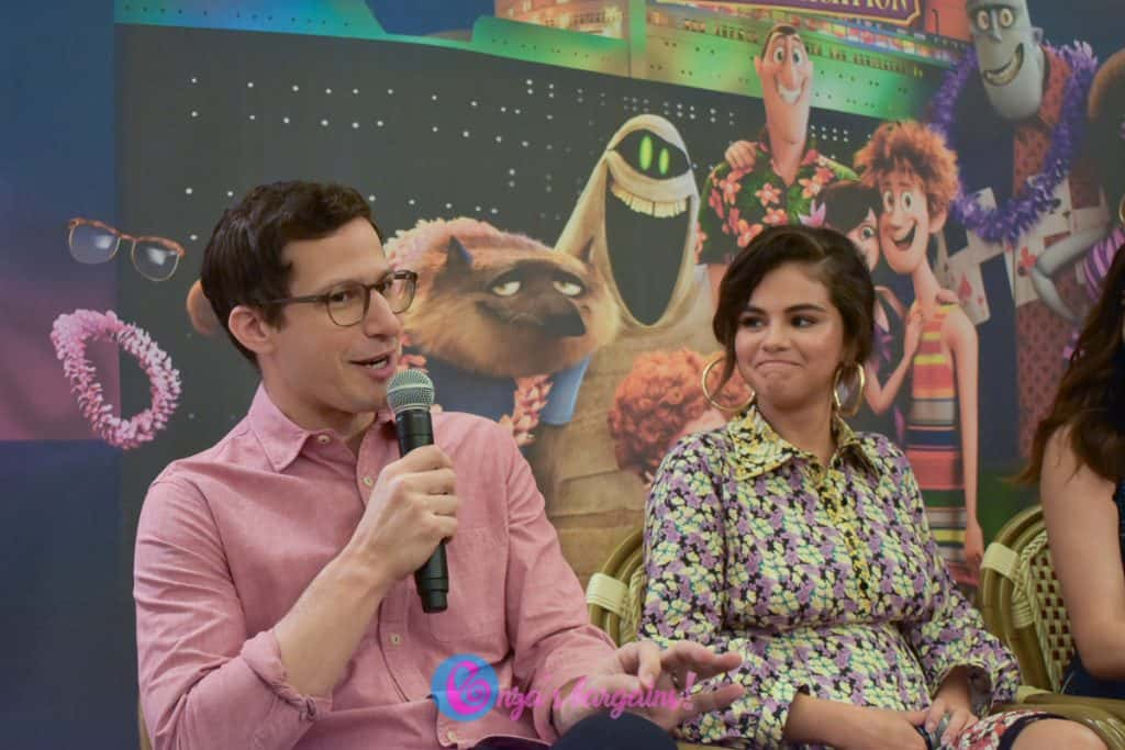 Hotel Transylvania 3: Summer Vacation Press Conference with Andy Samberg
