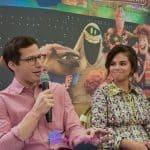 Hotel Transylvania 3: Summer Vacation Press Conference with Selena Gomez, Andy Samberg, Kathryn Hahn, and Director and Writer Genndy Tartakovsky
