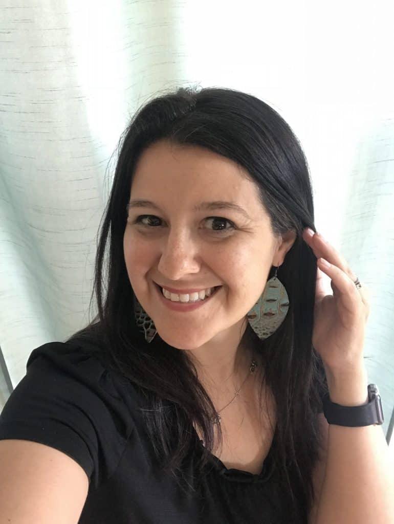 Leather Teardrop Earrings from Jewelry Junkie