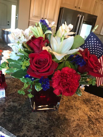 American Themed Birthday Party - Decoration Ideas