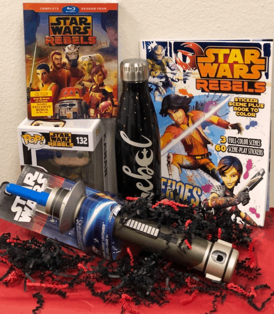 Star Wars Rebels Merchandise & Season 4 Prize Pack Giveaway