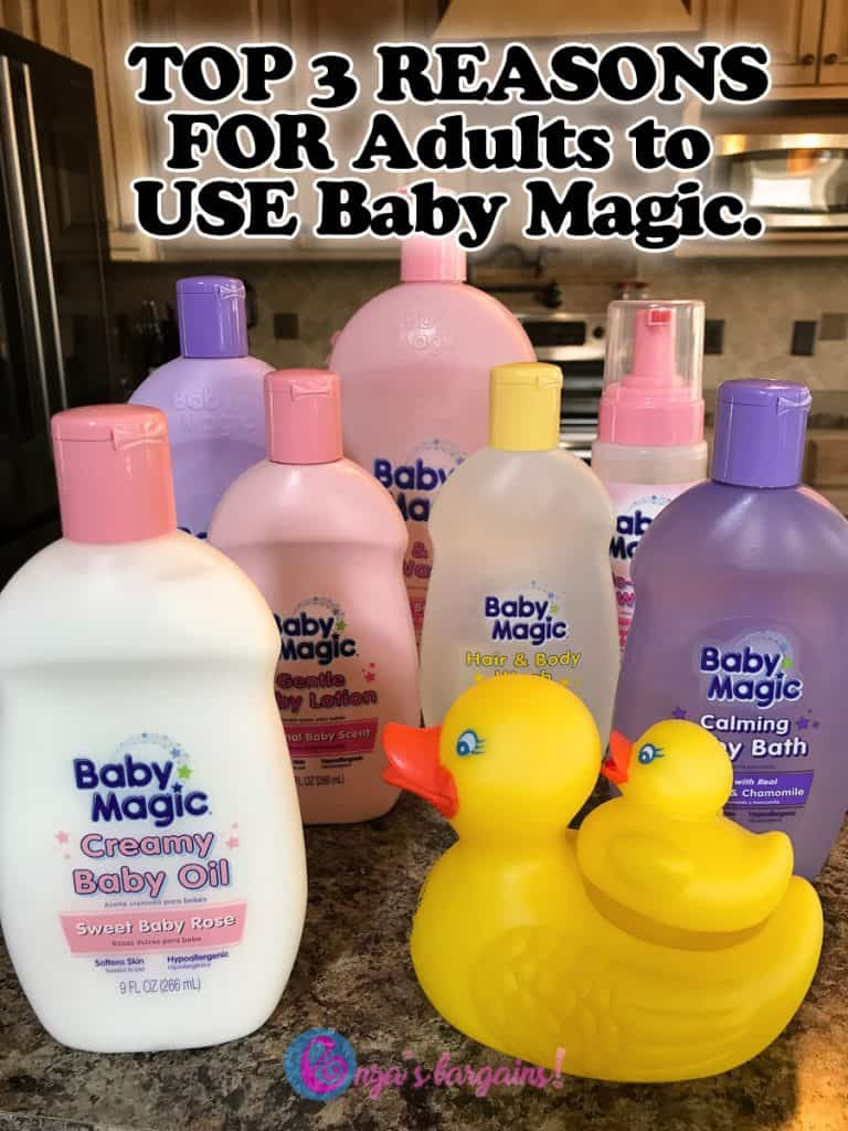 Baby Magic For Adults - TOP 3 Reasons to USE IT!