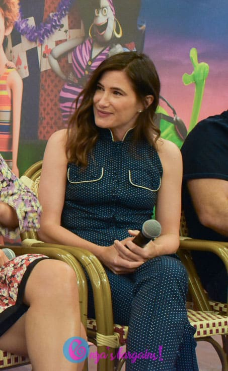 Hotel Transylvania 3: Summer Vacation Press Conference with Kathryn Hahn