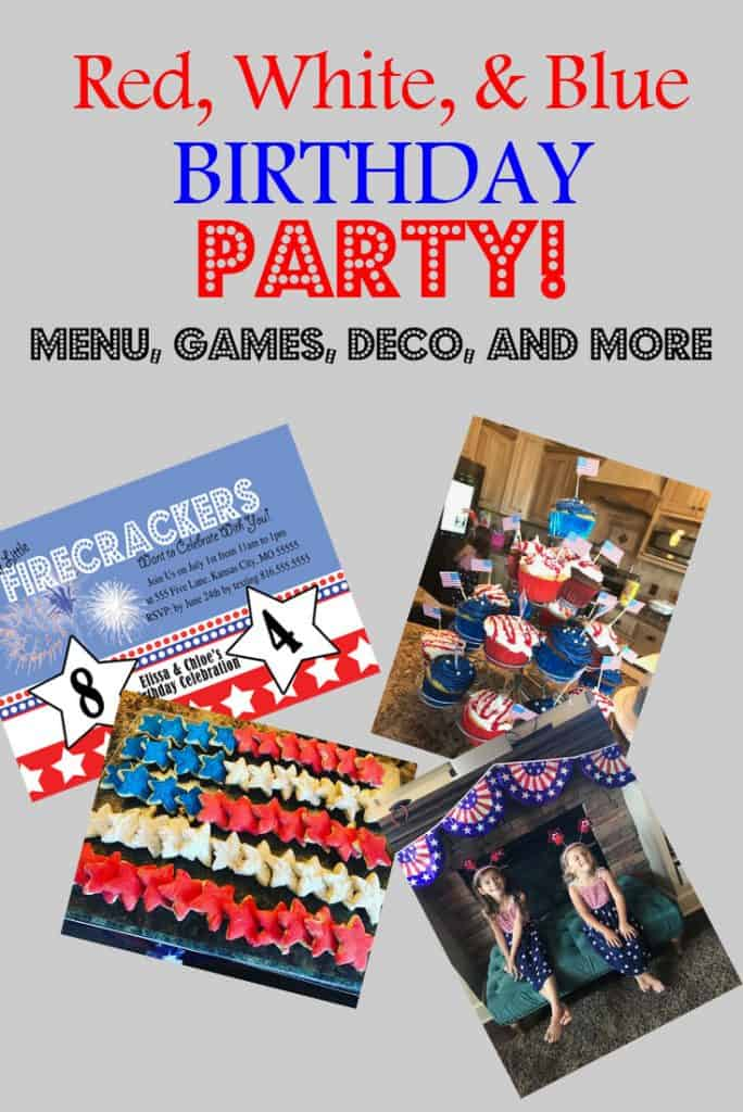 American Themed Birthday Party