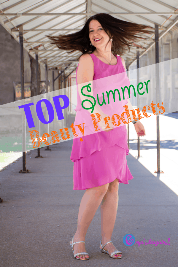 Summer Beauty Products that help me FEEL PRETTY!