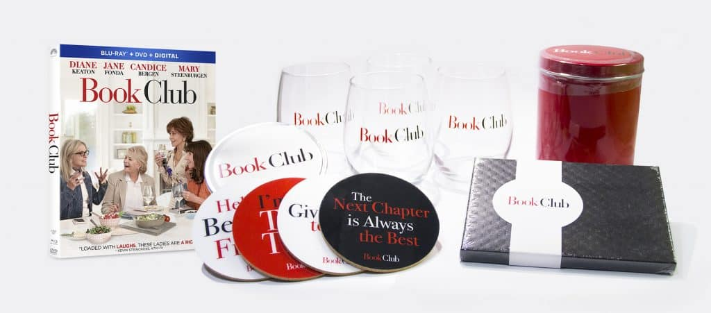 The Book Club DVD and Blu-ray