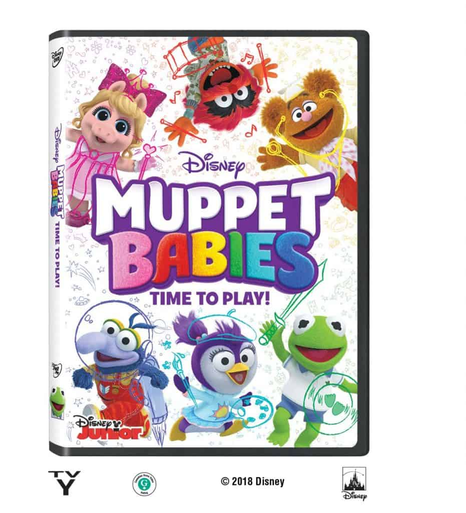 Muppet Babies Time to Play DVD Release August 14, 2018