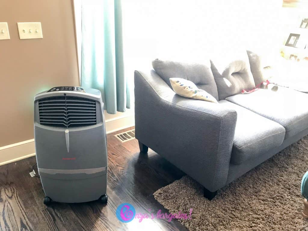 Honeywell 525 CFM Indoor & Outdoor Portable Evaporative Cooler Review - Perfect for Fall (CO30XE)