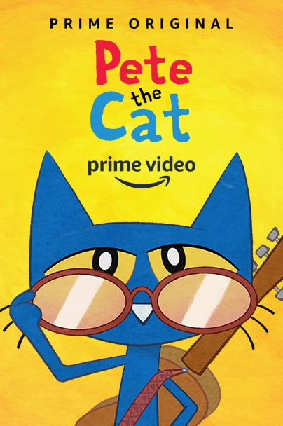 """Amazon Prime's """"Pete the Cat"""" is LIVE today & Pete the Cat Prize Pack Giveaway! (AD)"""