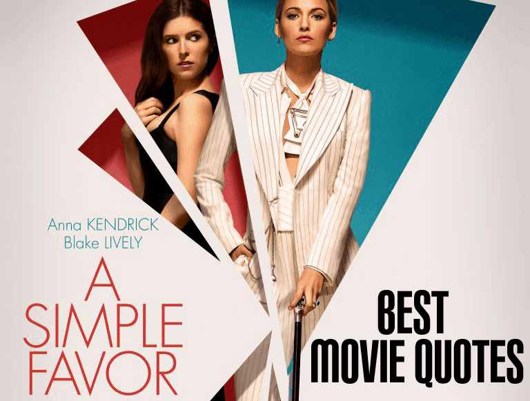 A Simple Favor Quotes