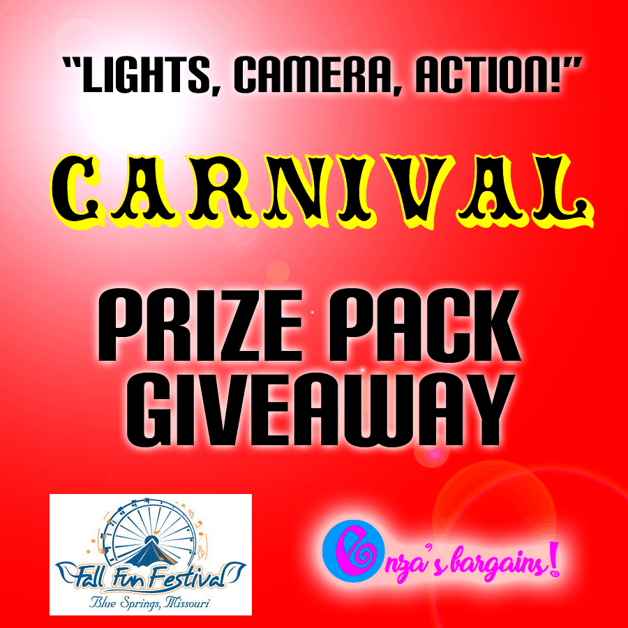 "Blue Springs Fun Festival  Lee's Summit ""Lights, Camera, Action Giveaway!"""