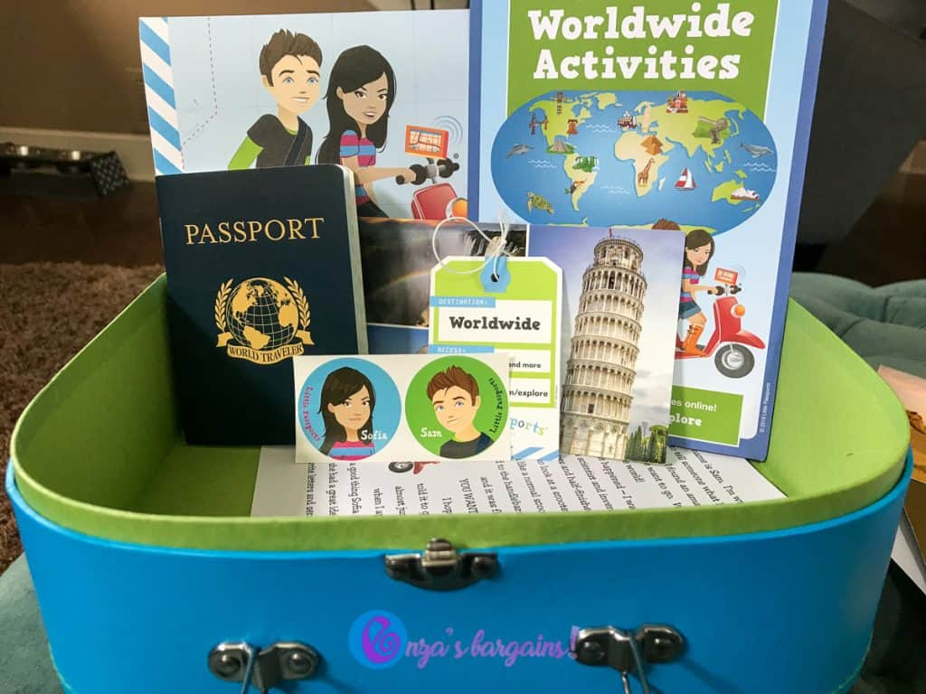 Little Passports Egypt Dig Kit and Review