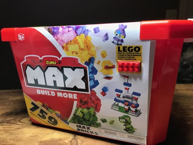 Zuru's Max Build More Blocks