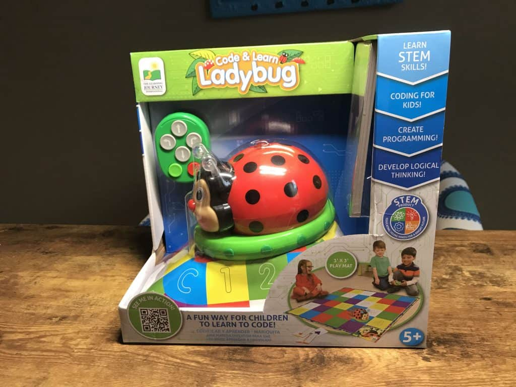 The Learning Journey's Code & Learn Ladybug