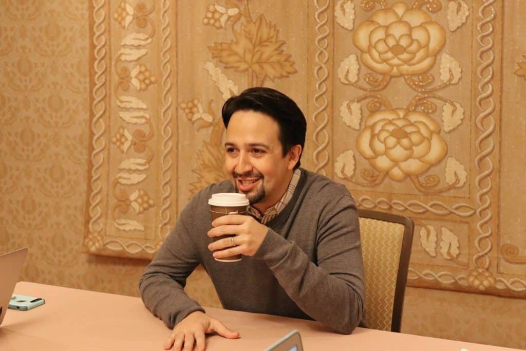 Mary Poppins Returns Interview with Lin Manuel Miranda